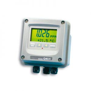 Calidad MejorasEnergeticas Abastecimiento y tratamiento de aguas Analizadores de cloro Analizadores y monitores de agua Analizador fotométrico de cloro Q46H 62 63