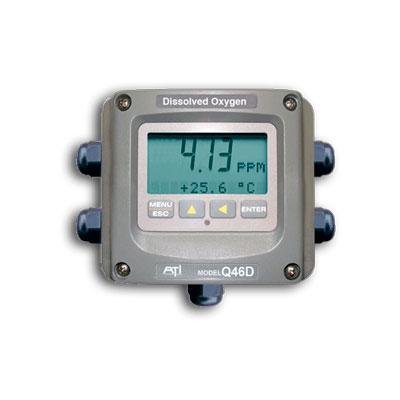 Calidad MejorasEnergeticas Abastecimiento y tratamiento de aguas Analizadores y monitores de agua Monitores de Oxigeno disuelto Monitor de oxigeno disuelto Q46D