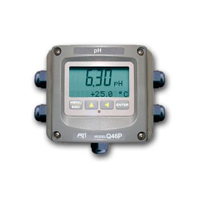 Calidad MejorasEnergeticas Abastecimiento y tratamiento de aguas Analizadores y monitores de agua Monitores de pH redox Monitor de ph Q46P/R