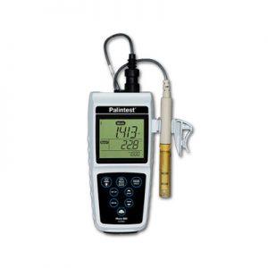 Calidad MejorasEnergeticas Abastecimiento y tratamiento de aguas Equipos portátiles Kits de campo y laboratorio Medidor de ph agua Micro 800 pH/Conductividad/TDS