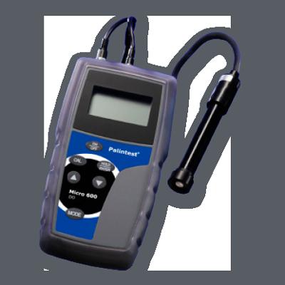 Calidad MejorasEnergeticas Abastecimiento y tratamiento de aguas Equipos portátiles Kits de campo y laboratorio Medidor oxigeno disuelto Micro 600 Oxígeno disuelto 2