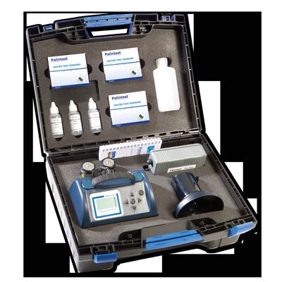 Calidad MejorasEnergeticas Abastecimiento y tratamiento de aguas Kits de campo y laboratorio Tecnología de sensor Medidor de cloro digital ChlordioX Plus 2