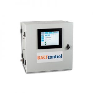 Calidad MejorasEnergeticas Abastecimiento y tratamiento de aguas Monitores de fluorescencia de algas Monitores microbiologicos en continuo Monitor de fluorescencia BACTcontrol