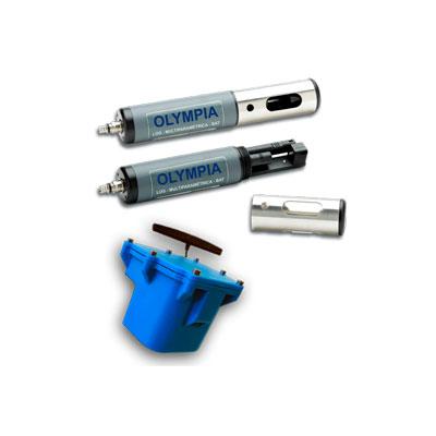 Calidad MejorasEnergeticas Abastecimiento y tratamiento de aguas Sistemas Olympia Sondas multiparamétricas Sistema de control Olympia 400