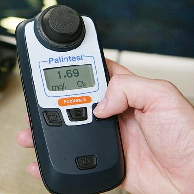 Calidad MejorasEnergeticas Fotómetros serie Pooltest, Test kits, Tratamiento y control de aguas de baño Fotómetro digital Pooltest3 2
