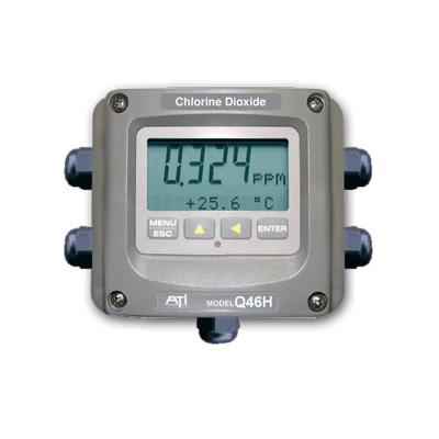 Calidad MejorasEnergeticas Abastecimiento y tratamiento de aguas Analizadores de biocidas Analizadores y monitores de agua Analizador de ácido Q46H 65