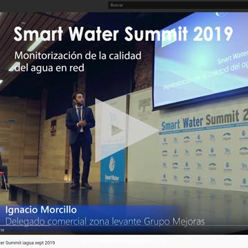 Calidad del agua smart water Ignacio Morcillo